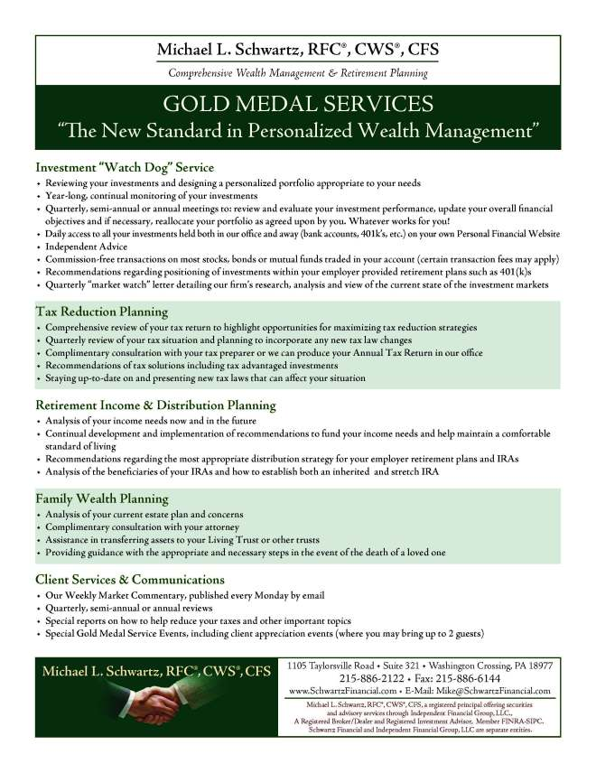MLS Gold Medal Service 2016